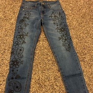 Justice Detailed Jeans